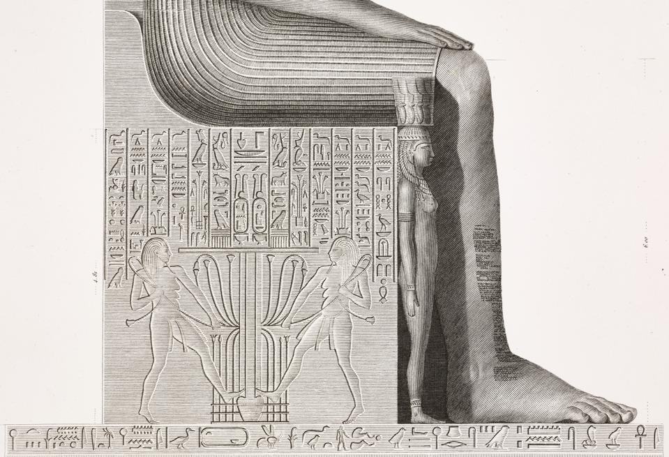 Statue of Pharaoh Amenhotep III, Theban Necropolis