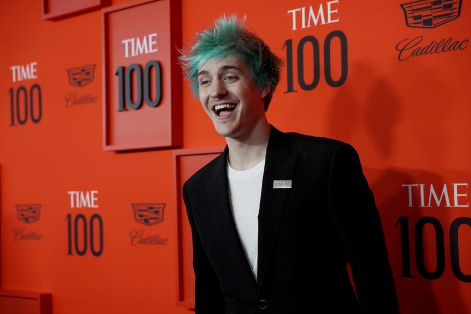 Time 100 Gala 2019 Tyler Blevins on red carpet
