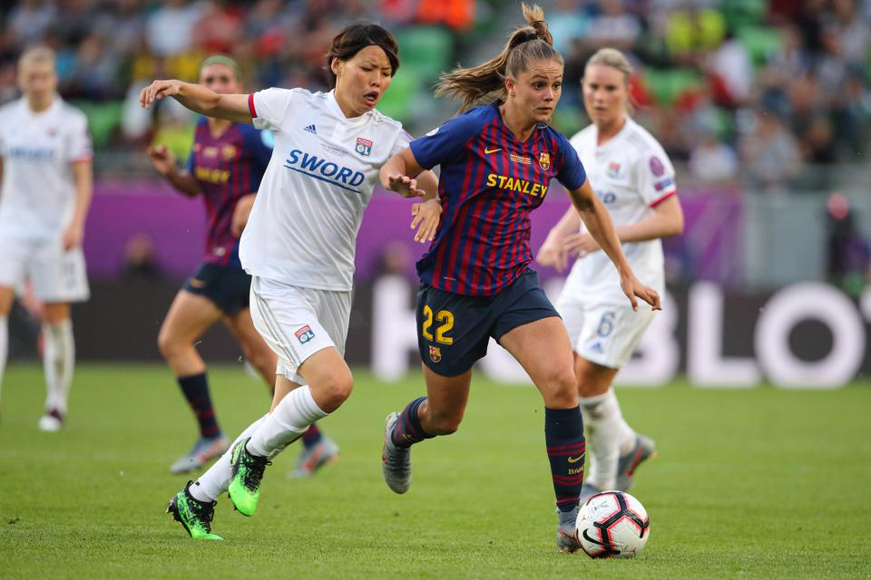 Olympique Lyonnais v FC Barcelona Women - UEFA Women's Champions League Final