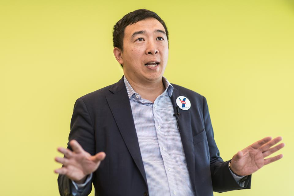 Andrew Yang Is Not Nearly As Rich As You'd Think