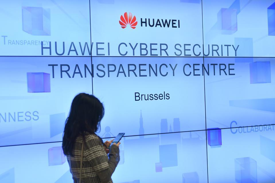 BELGIUM-CHINA-TELECOMMUNICATION-HUAWEI