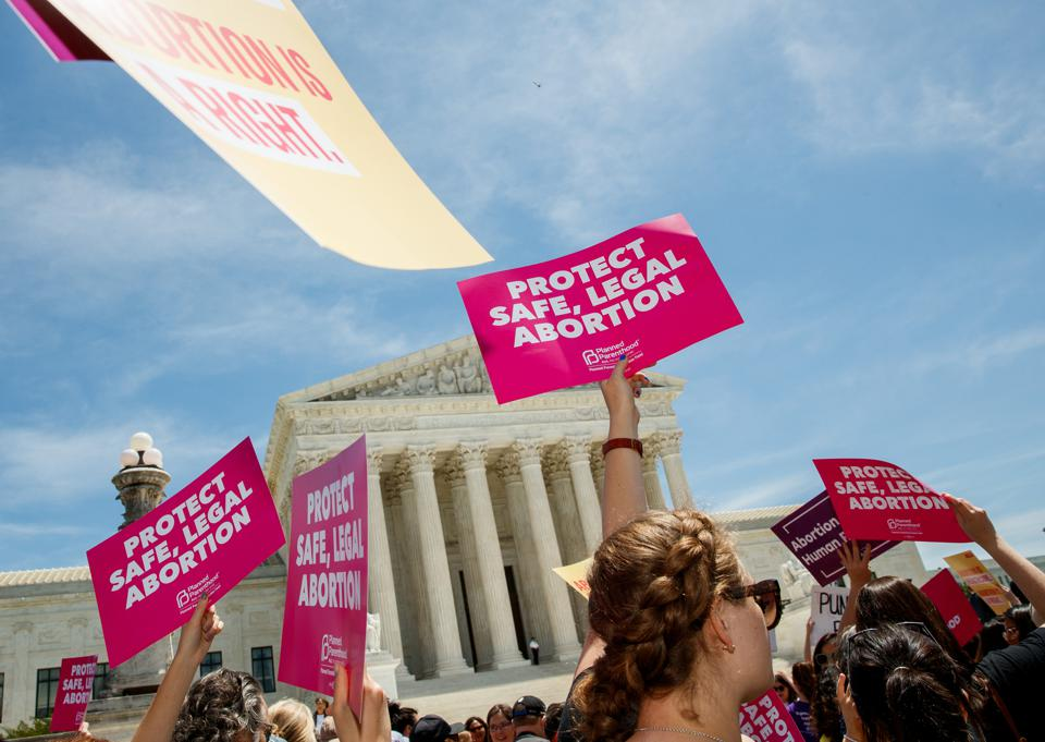 U.S.-WASHINGTON D.C.-ABORTION BAN-PROTEST