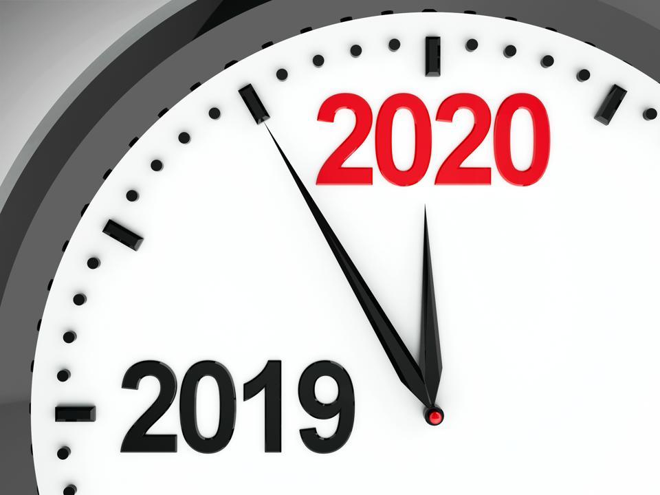 Clock dial 2019-2020