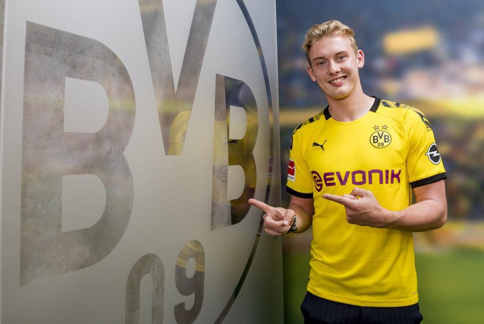 Borussia Dortmund Unveils New Signing Julian Brandt