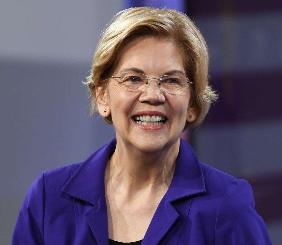 Can Elizabeth Warren Really Forgive $1.6 Trillion Of Student Loan Debt?