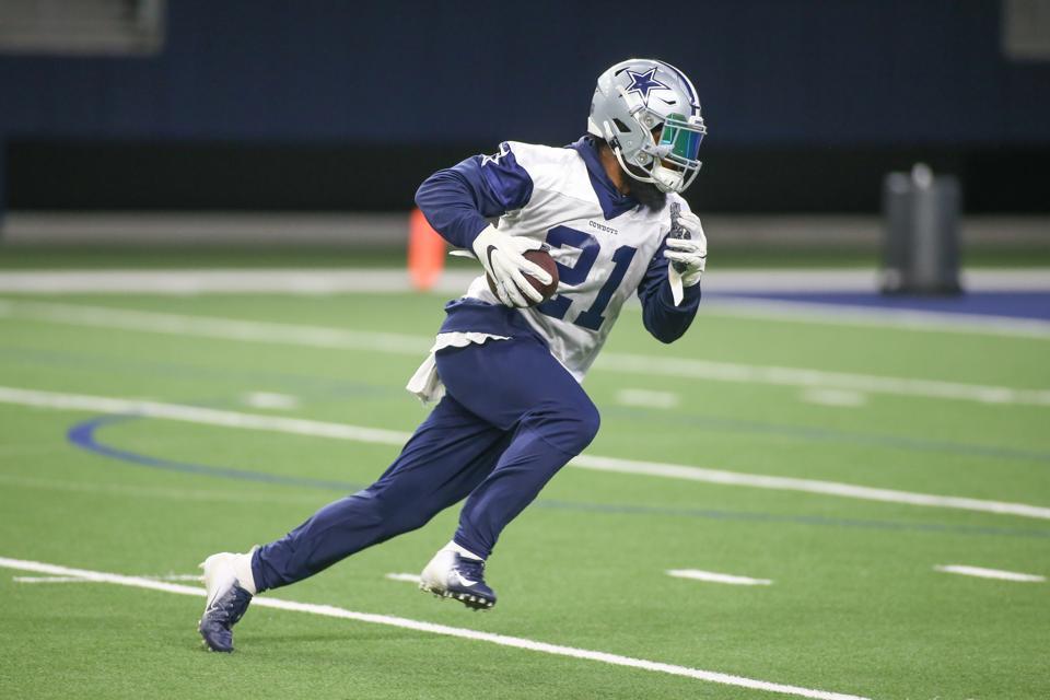 NFL: MAY 22 Dallas Cowboys OTA