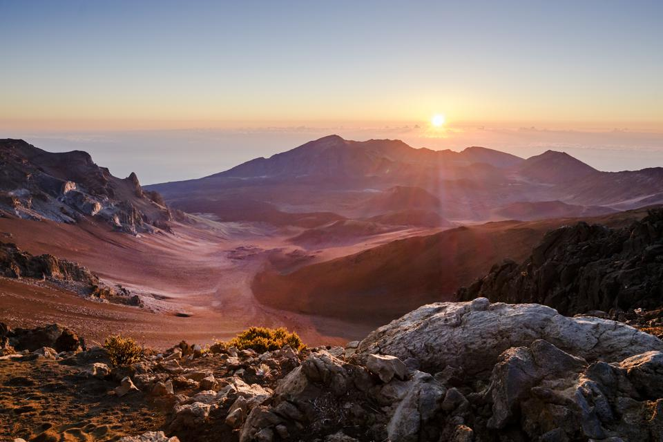 Sunrise, Haleakala Crater