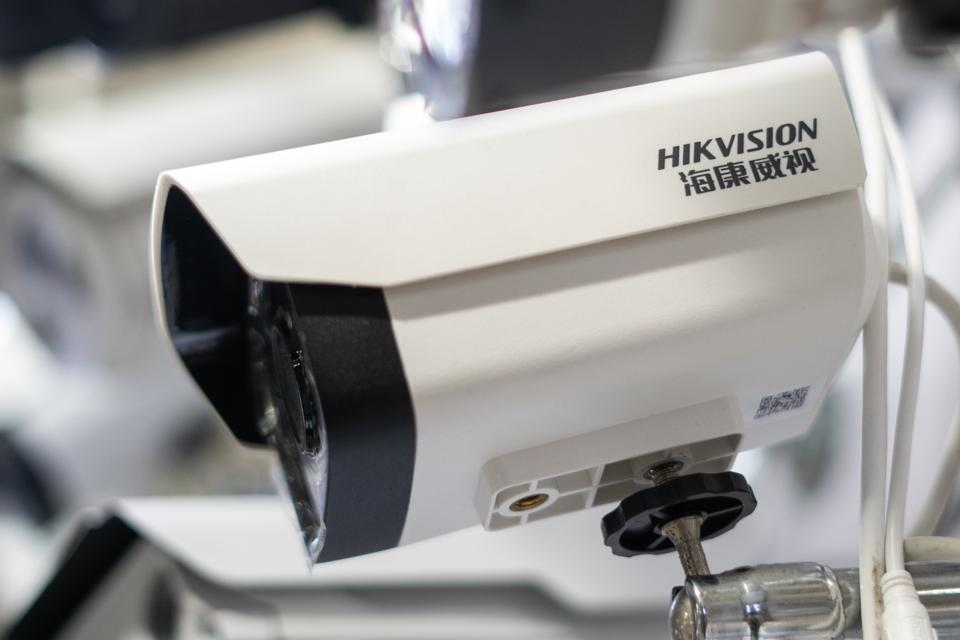 CHINA-US-TRADE-DIPLOMACY-HIKVISION