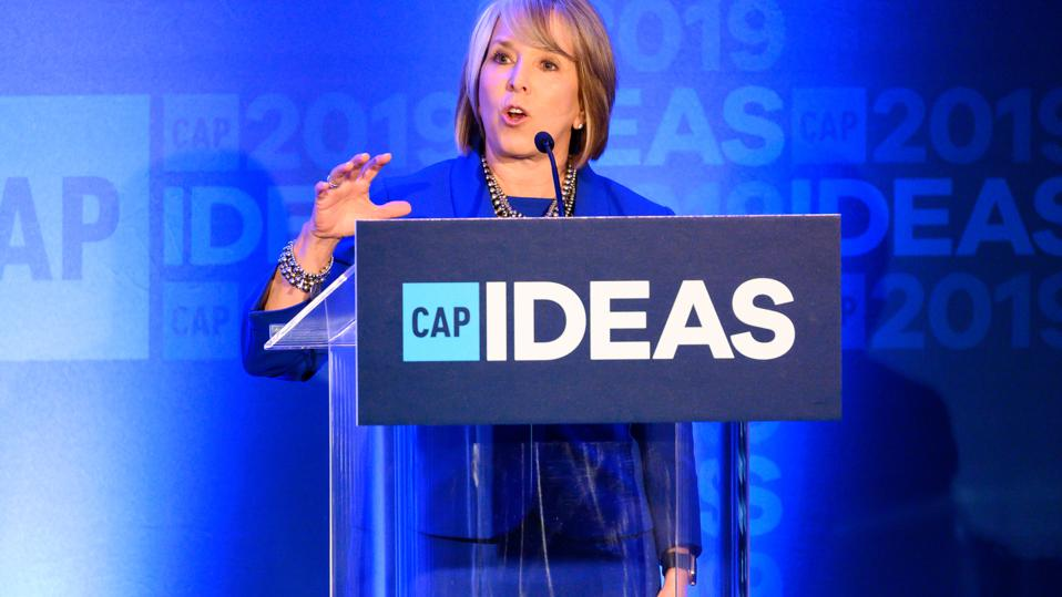 Gov. Michelle Lujan Grisham (D-NM) speaking at The Center...