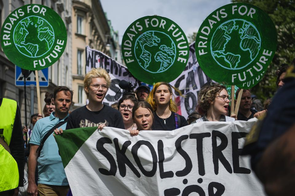 SWEDEN-EU-VOTE-CLIMATE-DEMONSTRATION