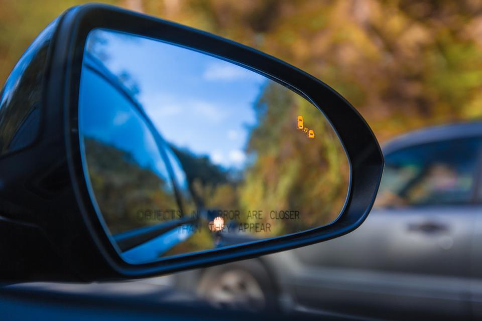 Blind Spot Assist Warning LED Sensor Light
