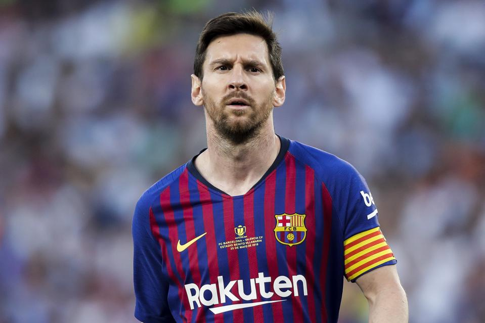 buy popular 2d8dc 36a99 World's Highest-Paid Athletes 2019: What Messi, LeBron And ...