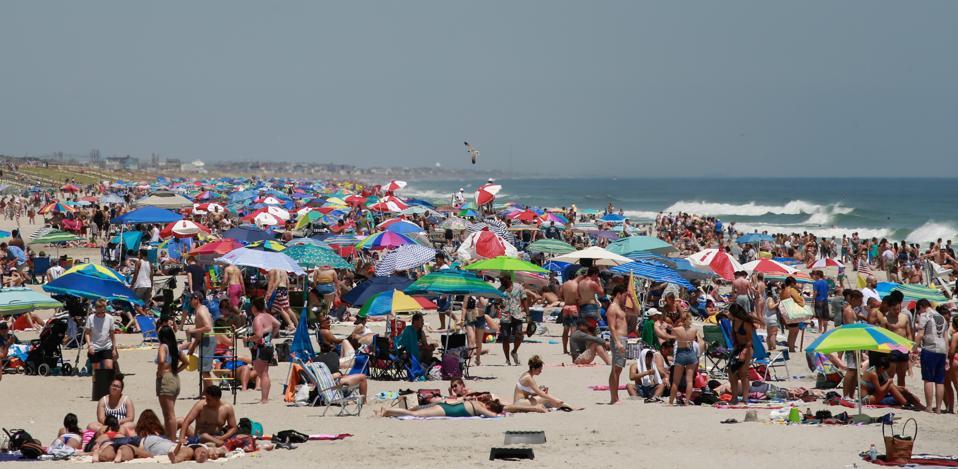 Jersey Shore Beaches Open For Season On Memorial Day Weekend