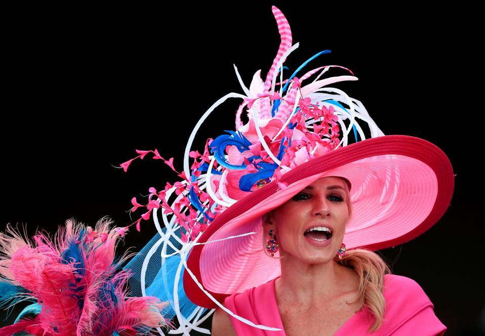2019 Kentucky Derby hats