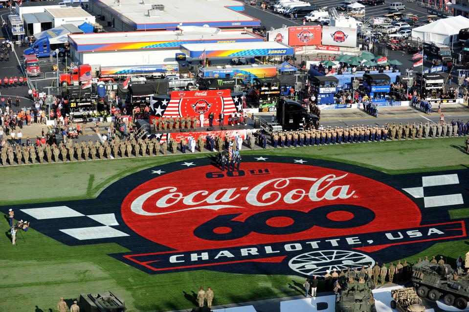 AUTO: MAY 26 Monster Energy NASCAR Cup Series - Coca-Cola 600