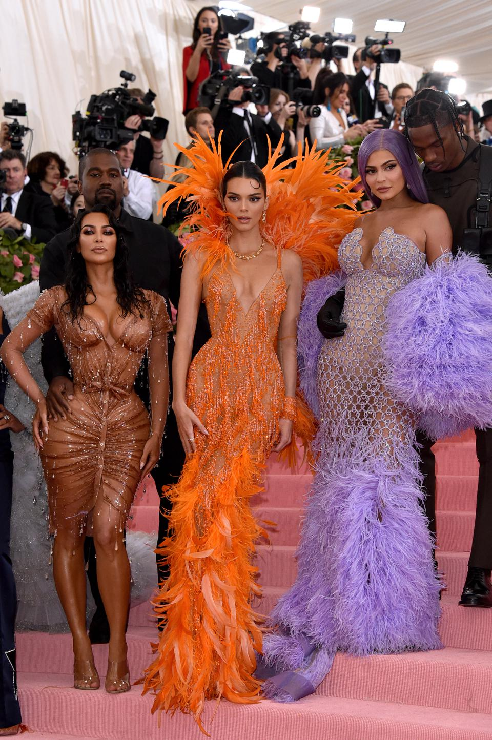 By our precursory count, Kim Kardashian West, Kanye West, and Kendall and Kylie Jenner applied for 716 trademarks between them.
