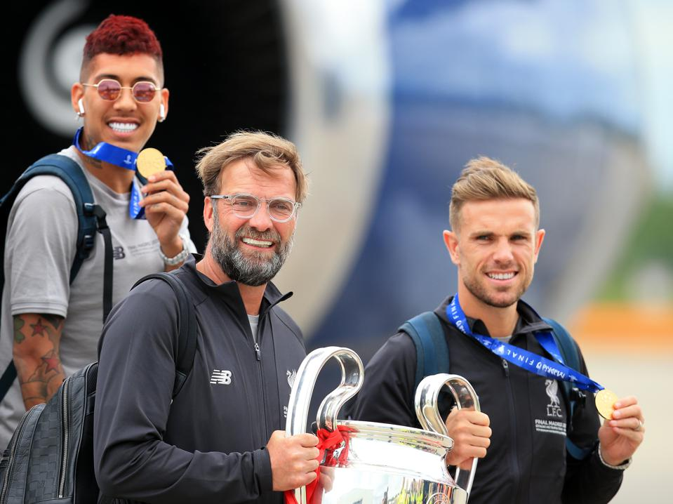 2019 Liverpool FC return from UEFA Champions League Final June 2nd