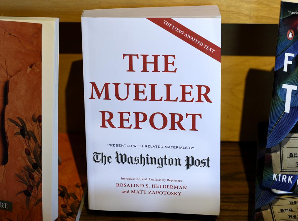 The Mueller Report book for sale