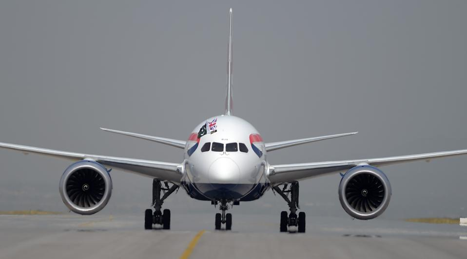 BA Plane