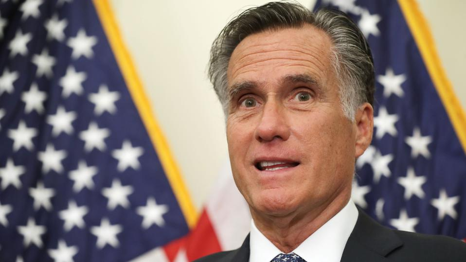 Senator Mitt Romney.