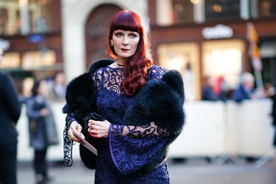 Betony Vernon, the Paris-based erotic jewelry designer pictured in Paris in May 2019