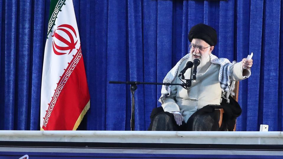 Iranian supreme leader Ali Khamenei.