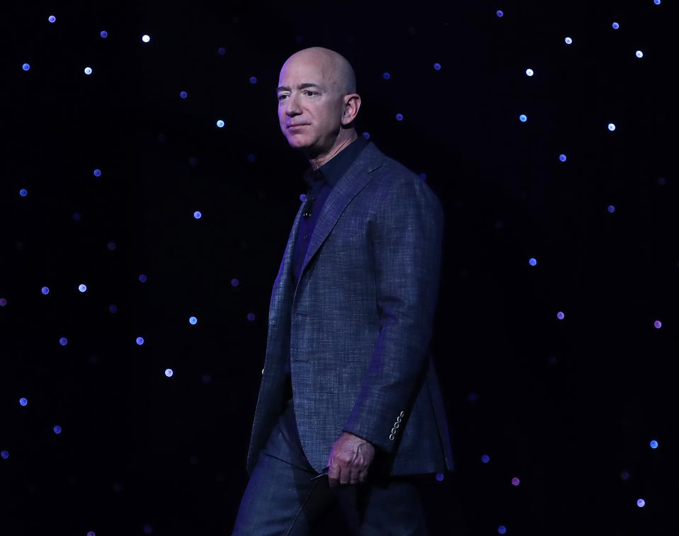 Amazon CEO Jeff Bezos spoke on stage at the company's first annual re:MARS conference in Las Vegas.