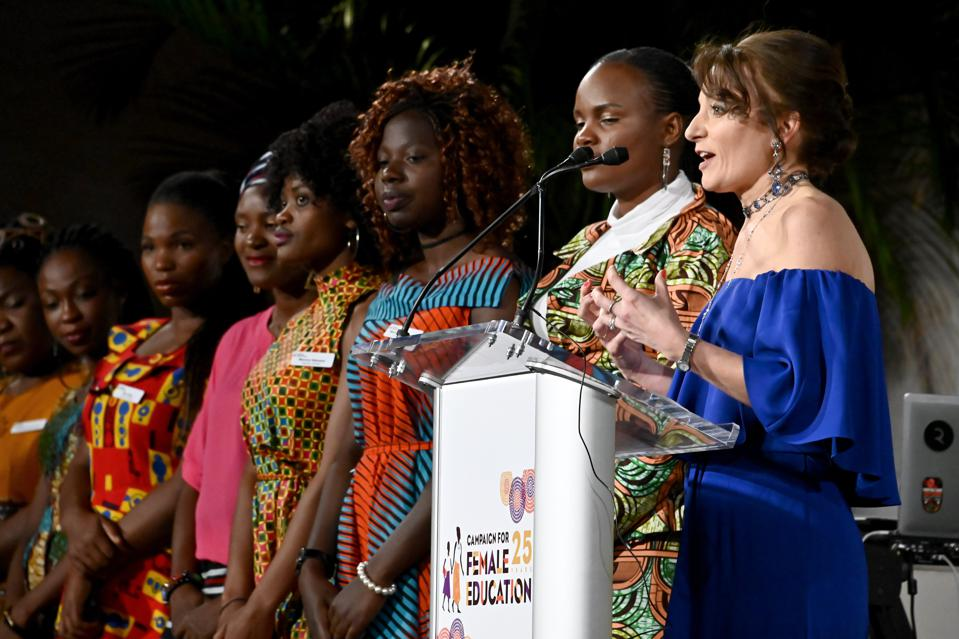 Campaign For Female Education Celebrates 25th Anniversary At Inaugural ″Education Changes Everything Gala″ - Inside