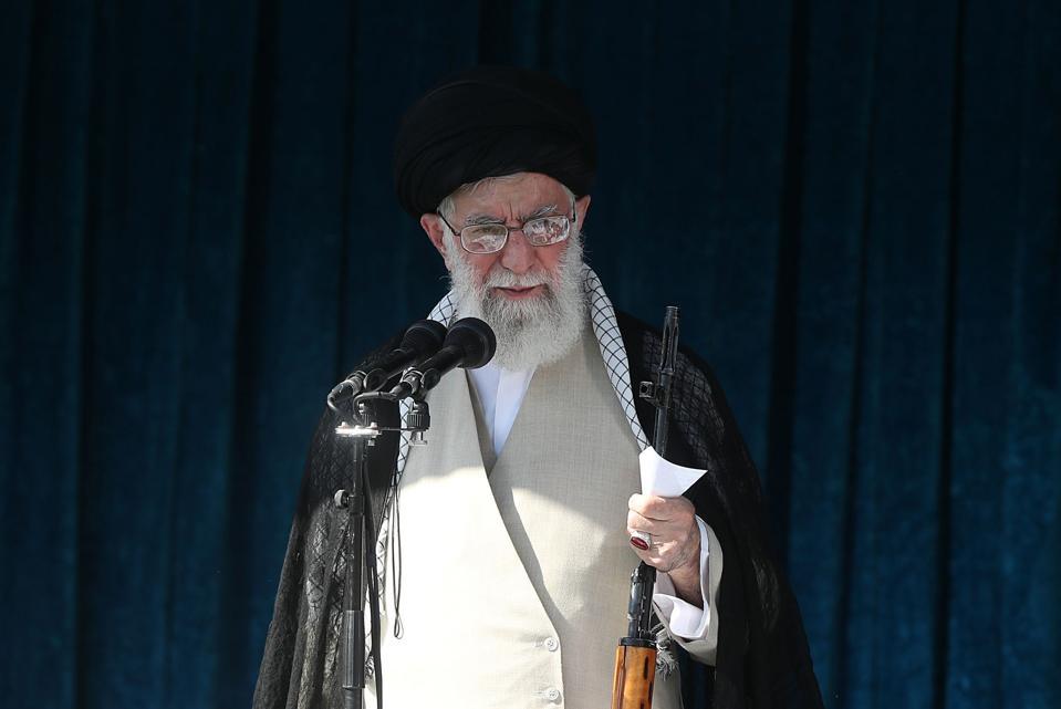 Iran supreme leader Ali Khamenei.