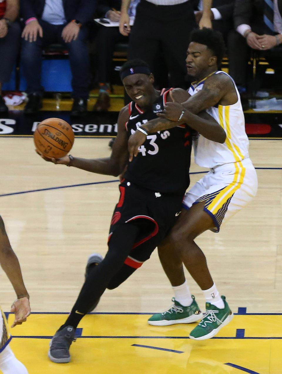 Toronto Raptors beat the Golden State Warriors in game three of the NBA Finals
