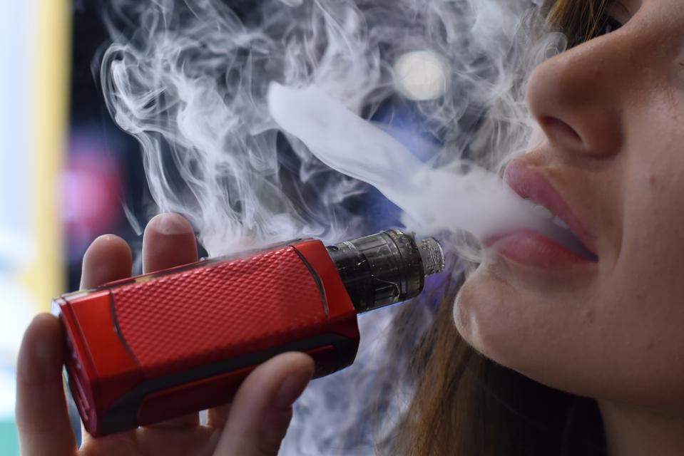 E-cigarette liquid can contain a high percentage of nicotine.