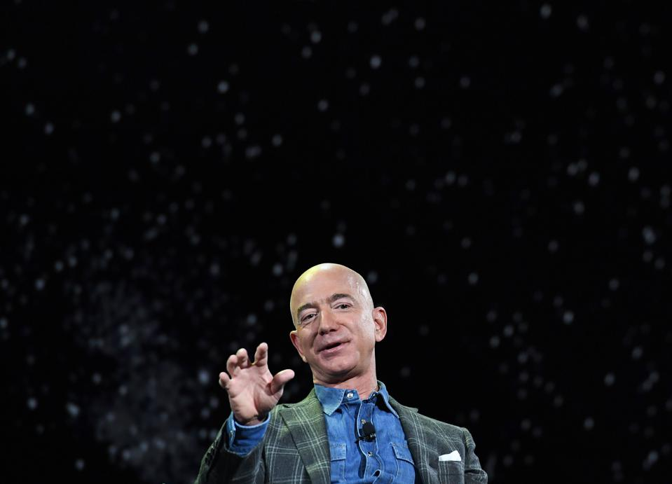 Jeff Bezos, The Richest Man In The World Sold Another 800,000 Amazon Shares For $1.7 Billion