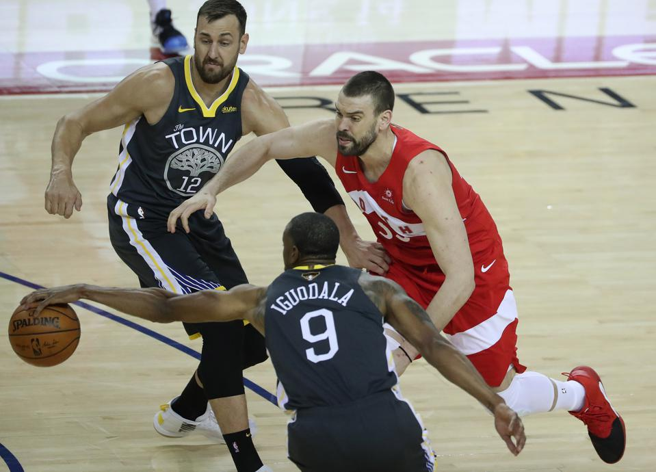 Toronto Raptors beat the Golden State Warriors in game four of the NBA Finals
