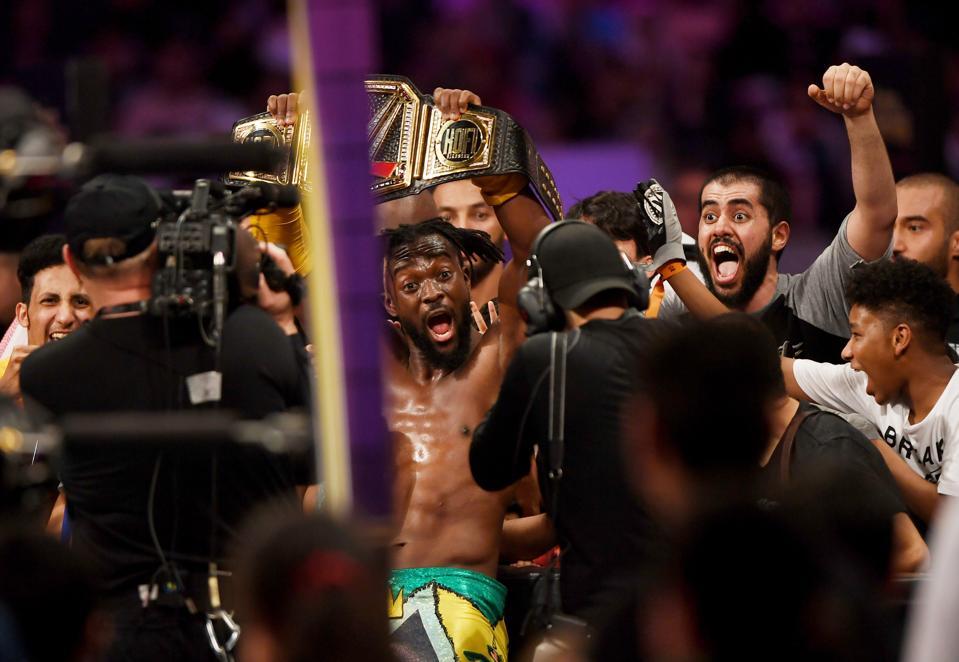WWE star Kofi Kingston