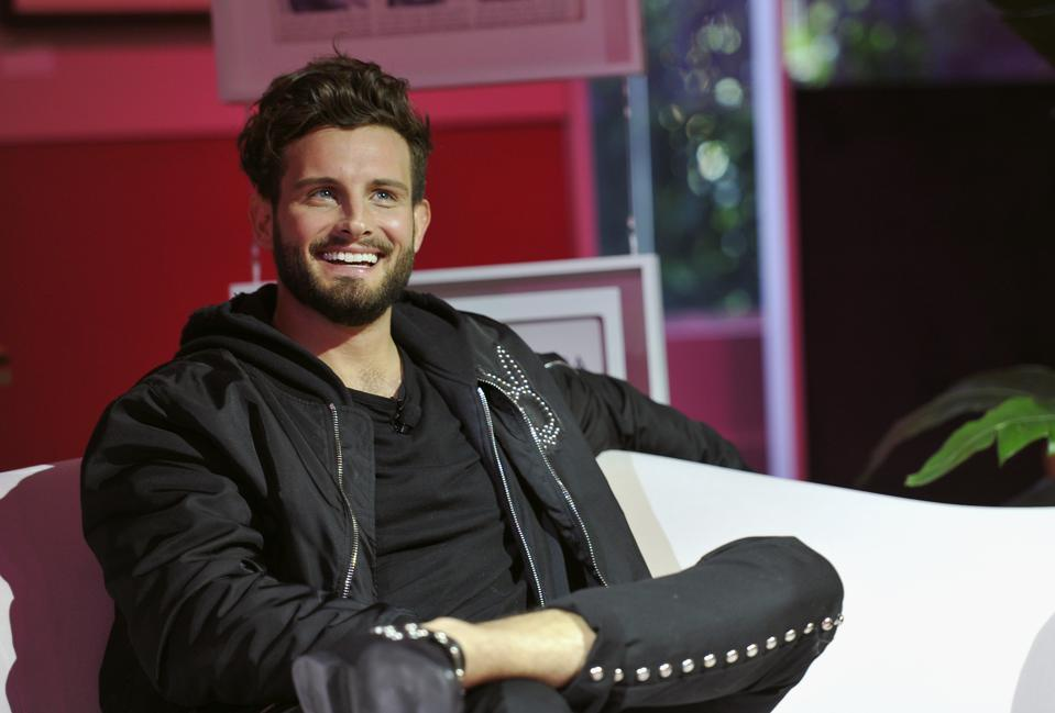 Shane Michael Singh discusses the Future of Masculinity with Nico Tortorella and Sarunas J. Jackson at the Playboy Playhouse