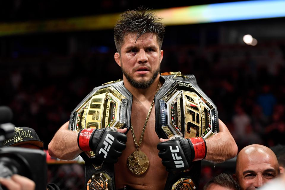 Henry Cejudo puts his UFC bantamweight title on the line against Dominick Cruz at UFC 249