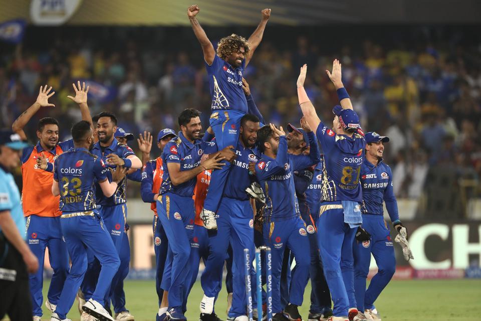 2019 Final IPL - Mumbai v Chennai
