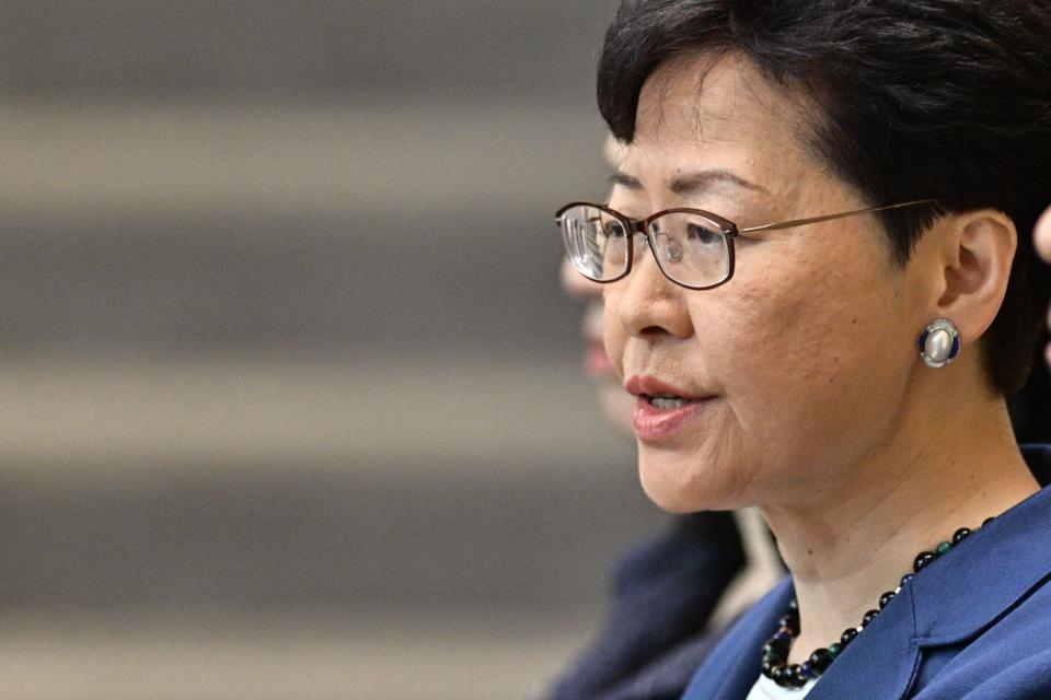 HONG KONG-CHINA-POLITICS-EXTRADITION