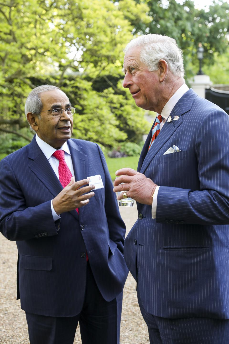 The Prince Of Wales Attends The Launch Of The At Ease Appeal