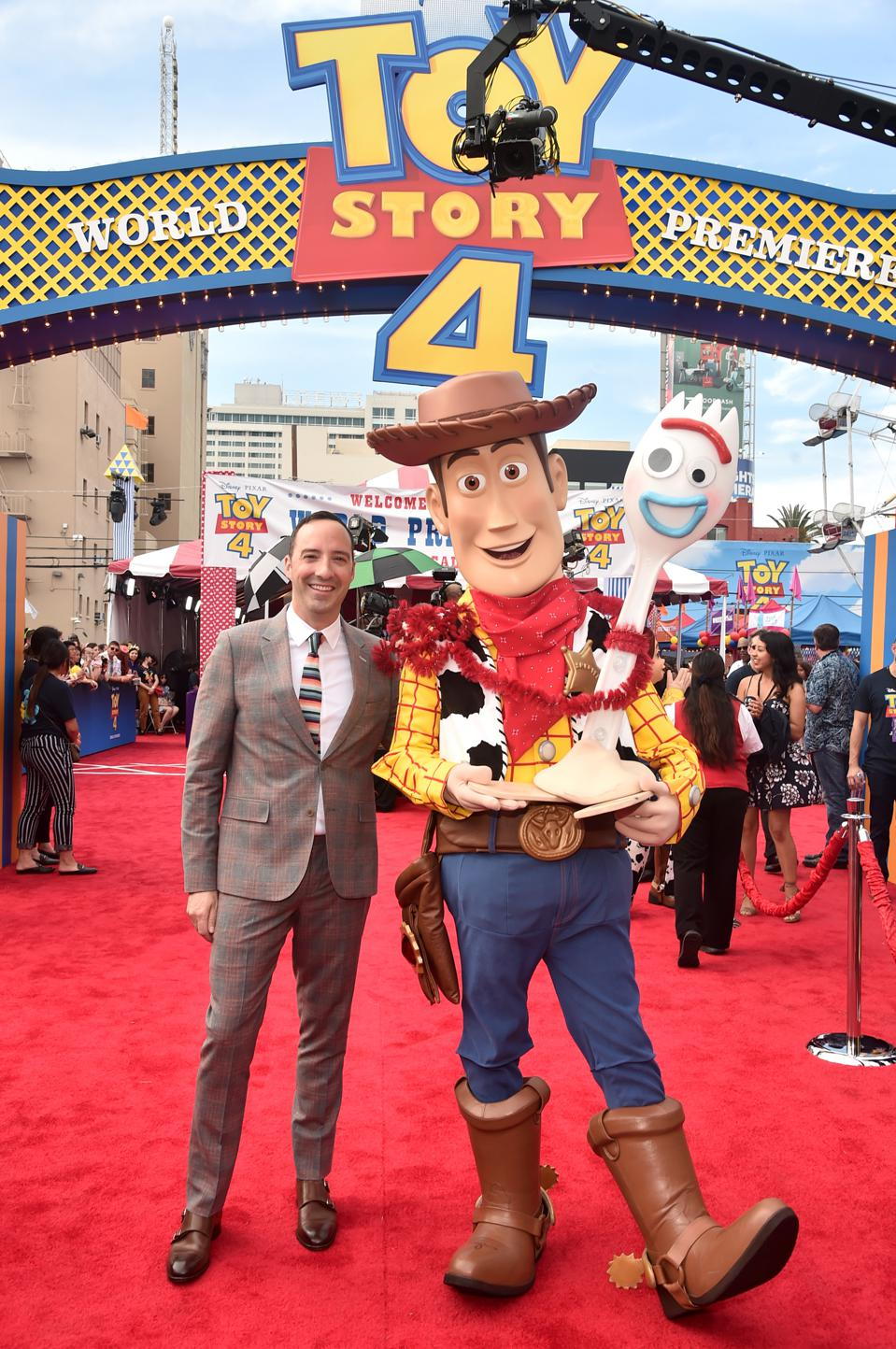 The World Premiere Of Disney And Pixar's ″TOY STORY 4″