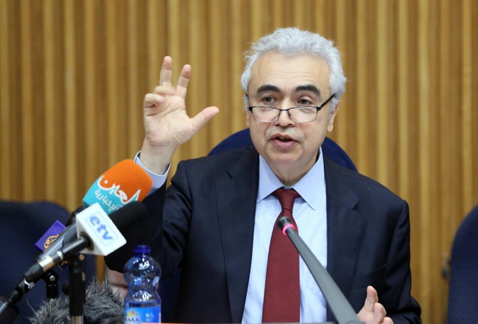 Executive director of the International Energy Agency, Fatih Birol.