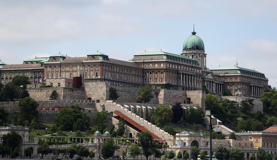A general view of Buda Castle