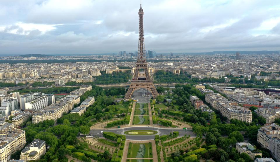Eiffel Tower Paris attractions