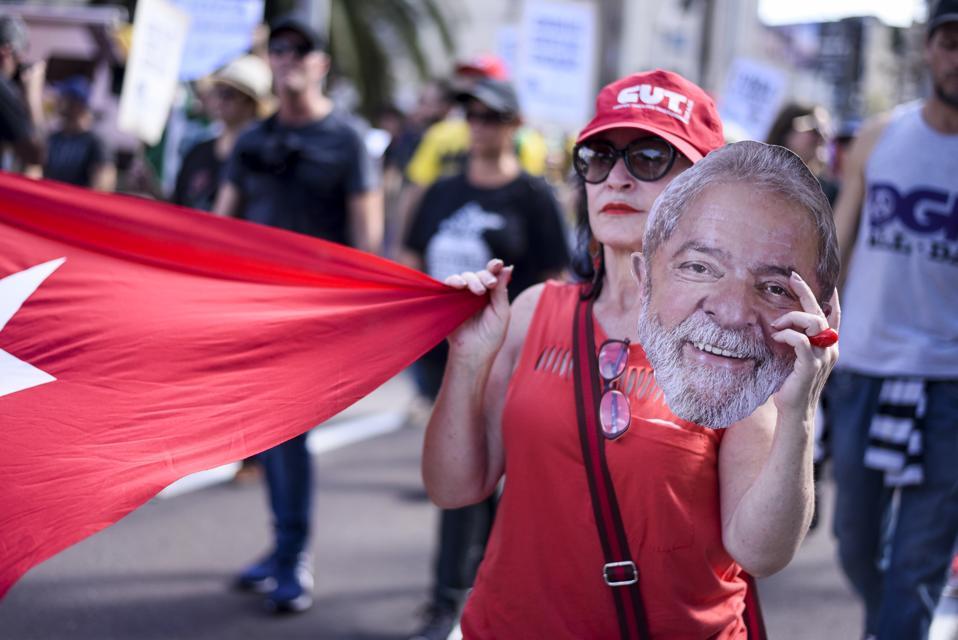 General strike in Brazil