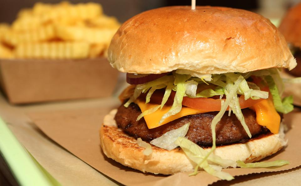 Meatless Burgers Gain In Popularity
