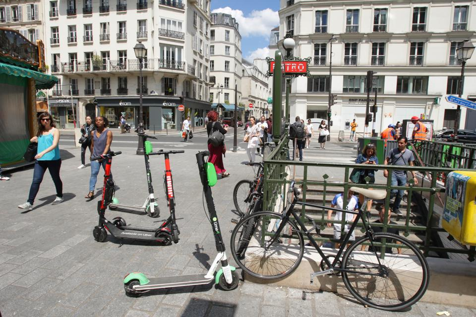 Electric Scooters Restricted After Dangerous Year In Paris