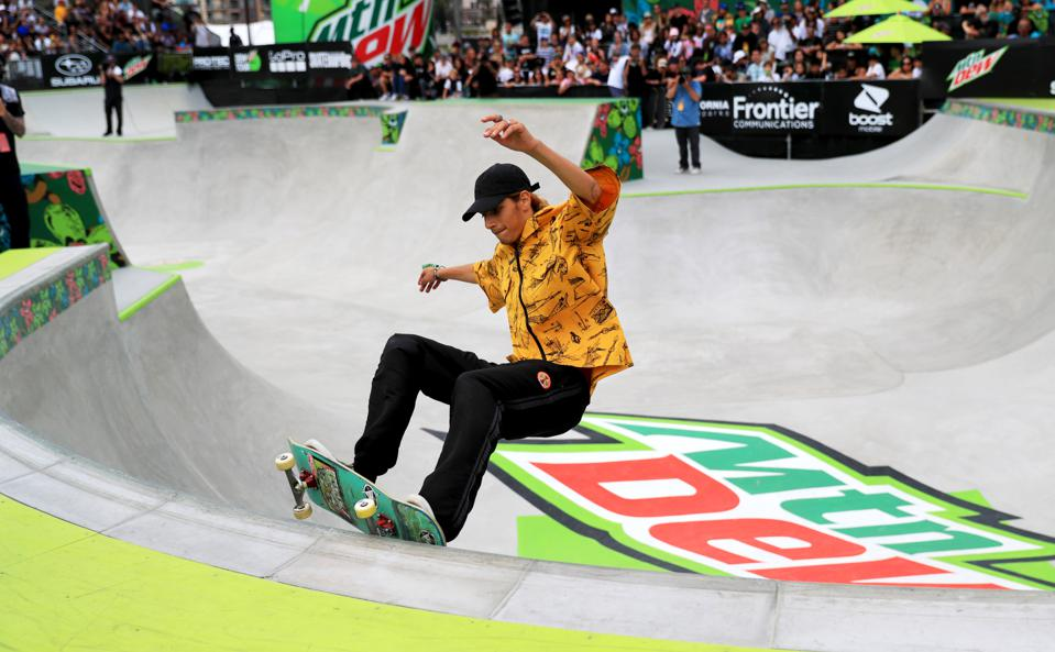 (SP)U.S.-LOS ANGELES-SKATEBOARD-DEW TOUR