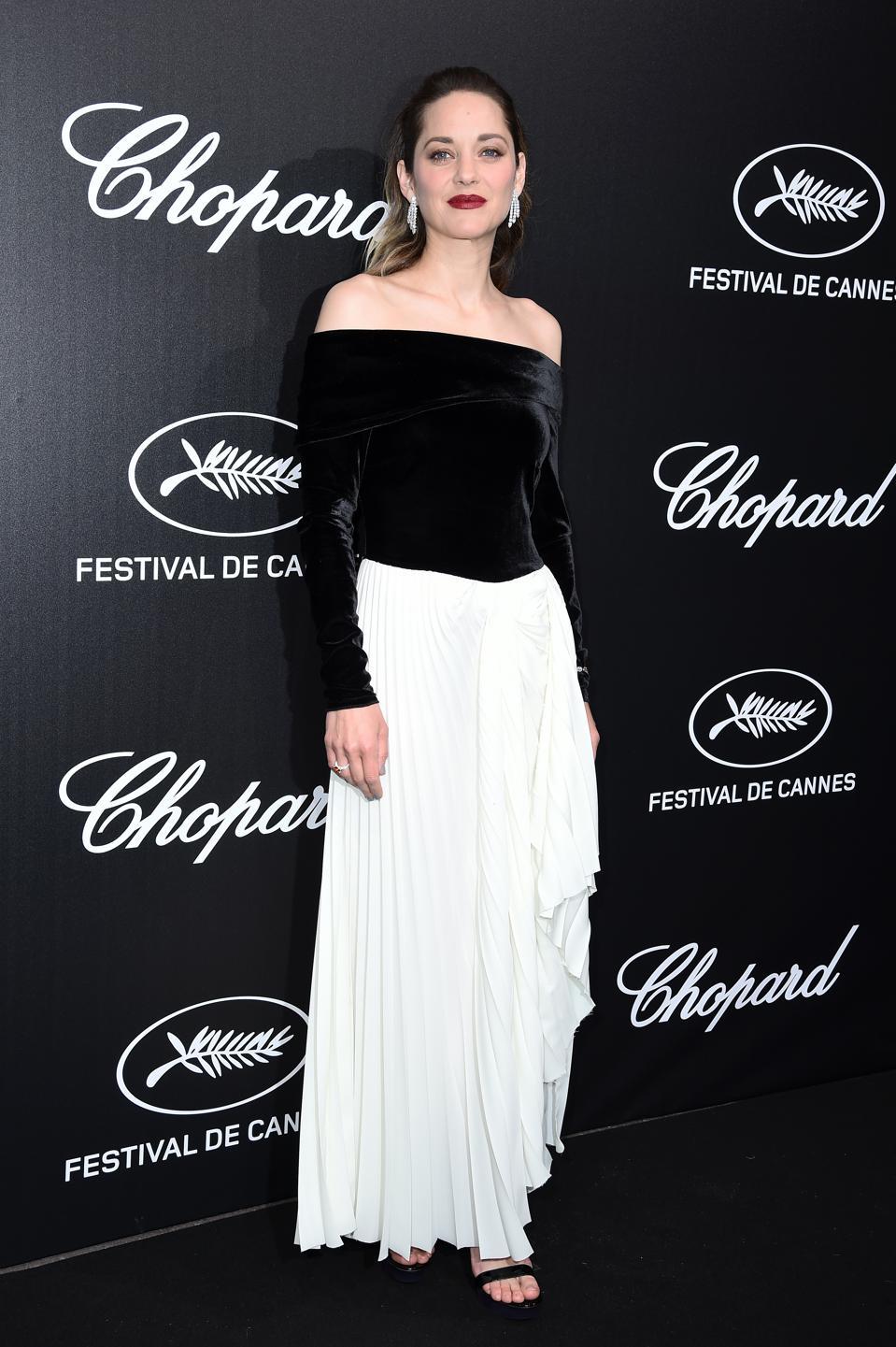 Cannes Film Festival Chopard Dinner Marion Cotillard