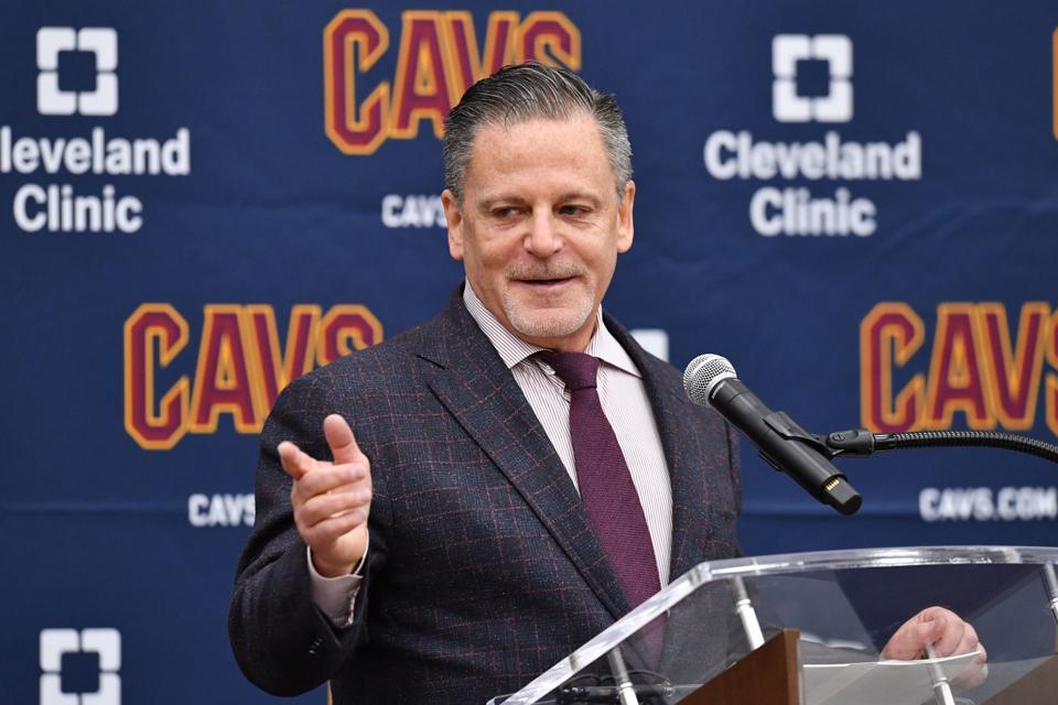 Cleveland Cavaliers Introduce John Beilein