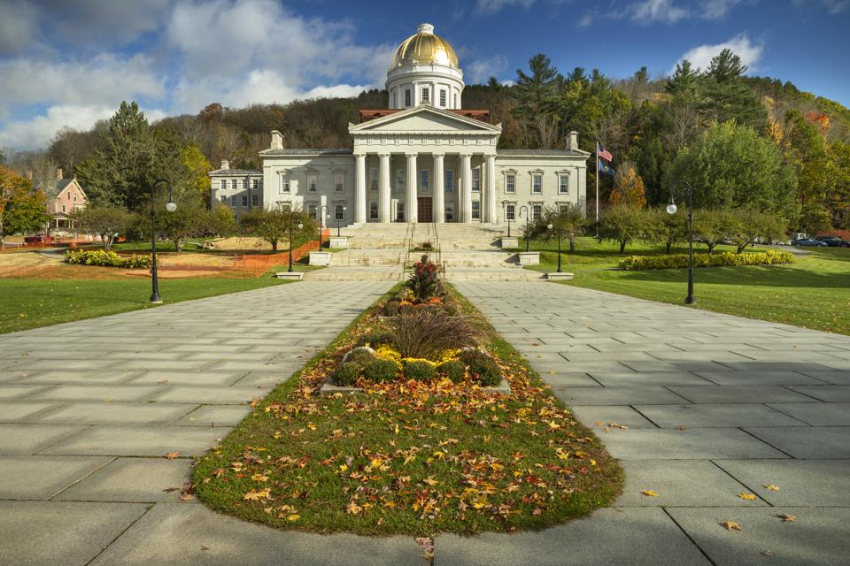 Vermont State House Montpelier Vermont USA